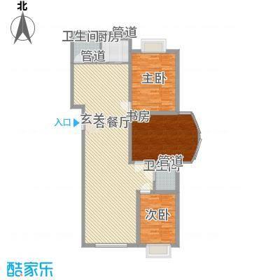 巨华时代广场144.80㎡户型2室2厅1卫1厨