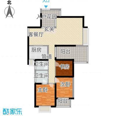 国贸怡河园户型2室1厅1卫1厨