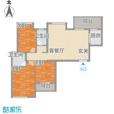 中信和兴家园户型3室
