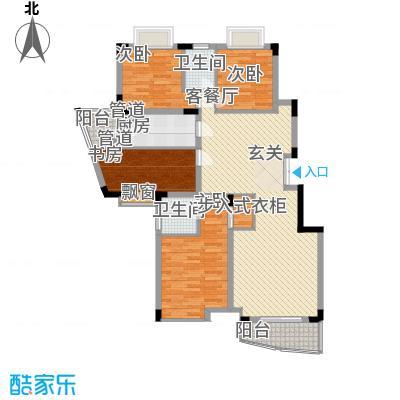 龙湖西苑145.00㎡户型