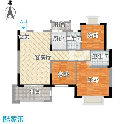 民田立沙新区户型3室