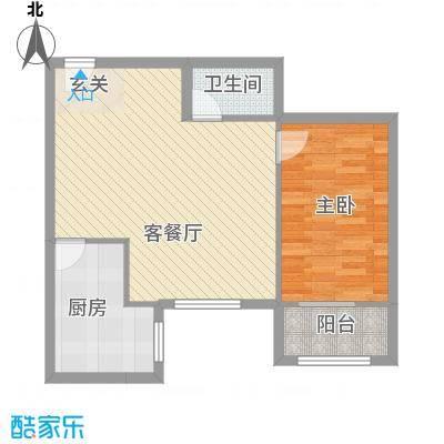 望京西园三区户型2室