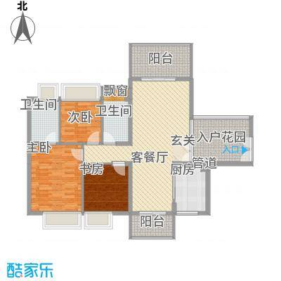 金叶公寓34.00㎡户型1室