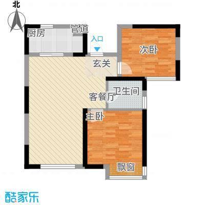 阳光华庭户型2室