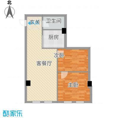 海丽德国际商厦8.00㎡E户型1室1厅1卫