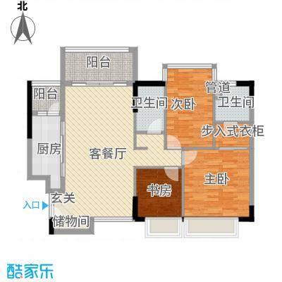 合正锦园户型3室
