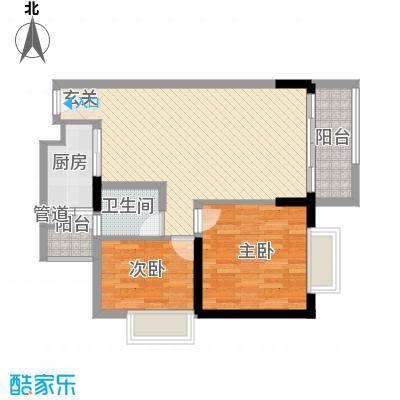 合正锦园户型2室