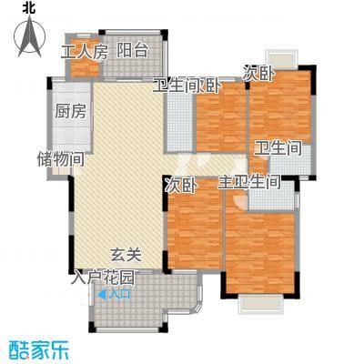 江南丽苑二期户型4室