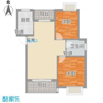 和庆楼户型2室