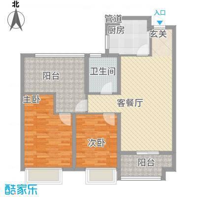 发电厂宿舍楼户型2室