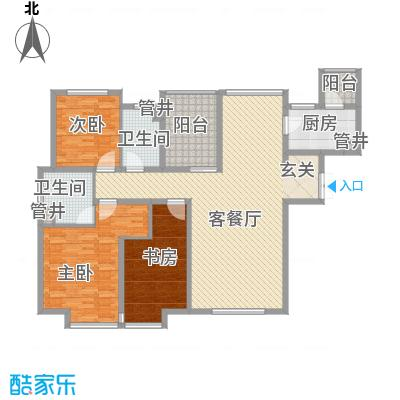 引黄宿舍175.00㎡户型3室