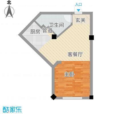 酷派公寓F户型
