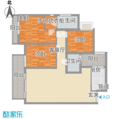 金科公园王府87.00㎡户型2室