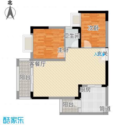 龙井湾住宅小区1户型2室