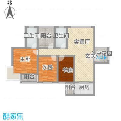 厦门罐头厂宿舍3-2-2-1-5户型3室2厅2卫1厨
