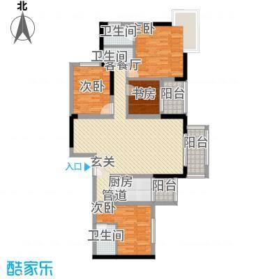 龙井湾住宅小区3户型4室