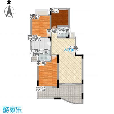龙井湾住宅小区5户型2室