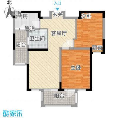 古北御庭113.00㎡户型2室