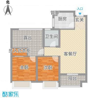 星河湾户型2室