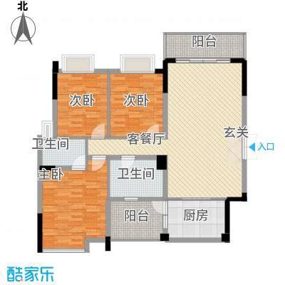 恒展大厦户型3室