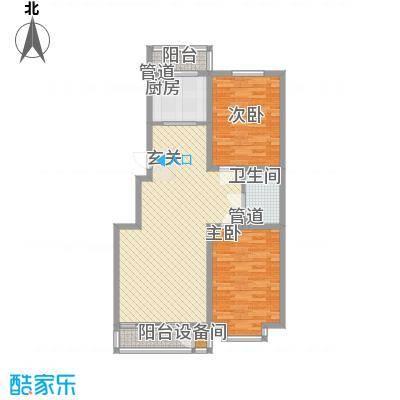 辰宇枫景瑞阁12.00㎡户型3室