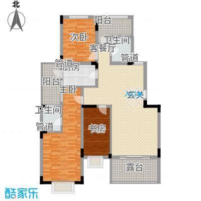 南滨雅苑3户型2室