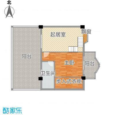 温馨佳苑131.00㎡楼中楼户型