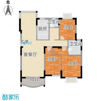 恒润花园14.51㎡户型3室