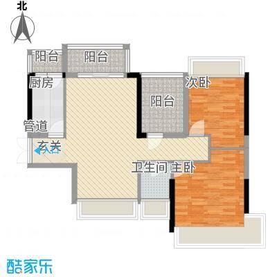 丽湾花园户型2室