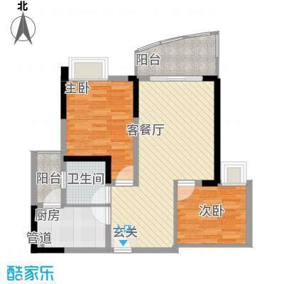 八一路小区户型2室