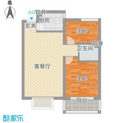 金杜洋光65.00㎡户型2室