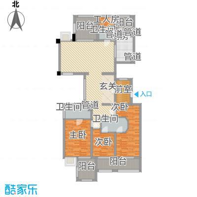 万源城尚郡172.00㎡户型4室