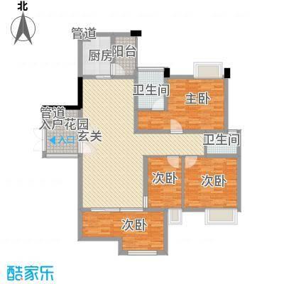 惠昌楼户型3室