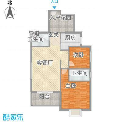嘉源新城8.00㎡户型3室