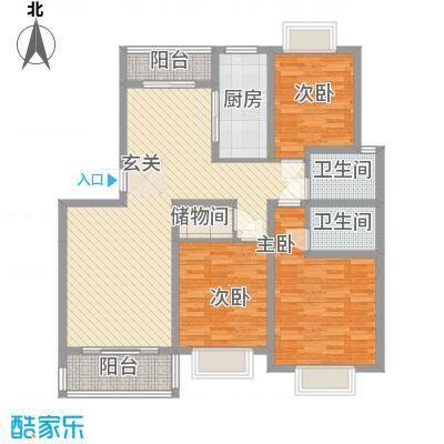 泰晤士小镇公寓13.00㎡泰晤士小镇户型3室