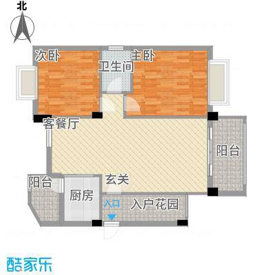 华清园户型2室
