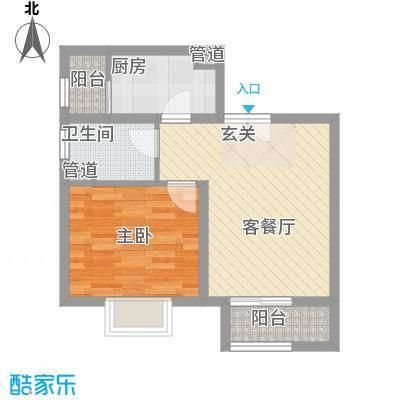 南新街民政厅宿舍1-1户型
