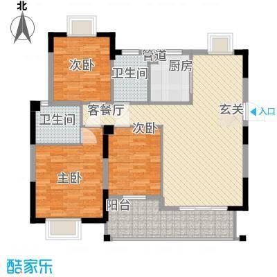 湖滨南路国药宿舍户型3室2厅2卫1厨