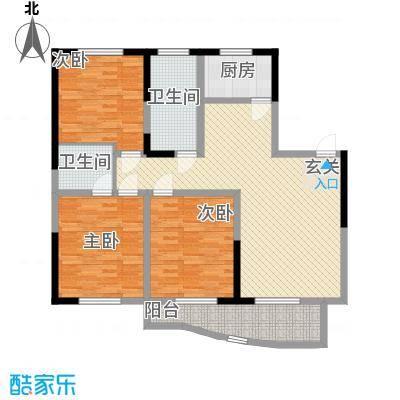 前洲商贸财富中心136.00㎡D户型3室2厅2卫