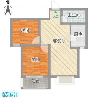 圣井冠军花苑户型2室