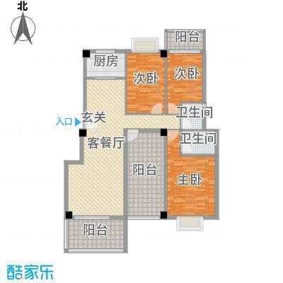 阳光翠庭2#楼4、5、7层户型