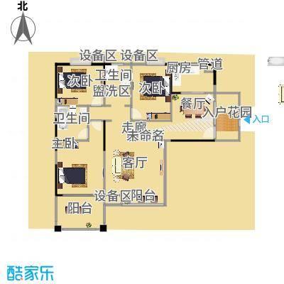 东海豪园13016-13673M2户型-副本