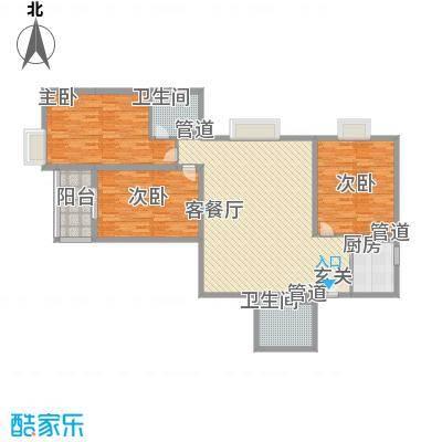 汾河景观360147.42㎡太原户型