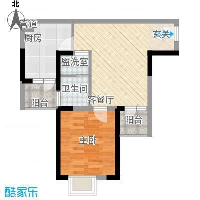 八一路小区户型1室