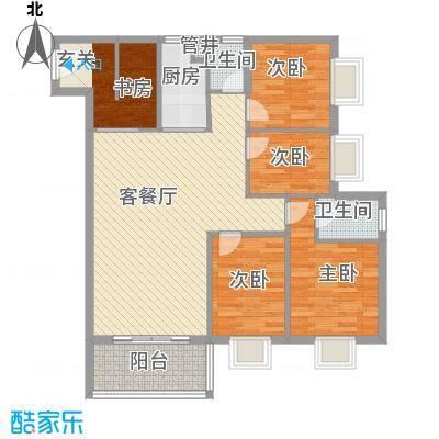 海宇连城国际户型4室