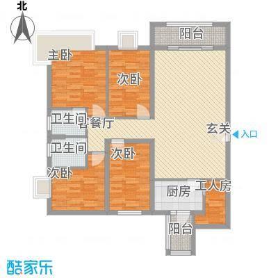 聚和广场133.00㎡户型4室