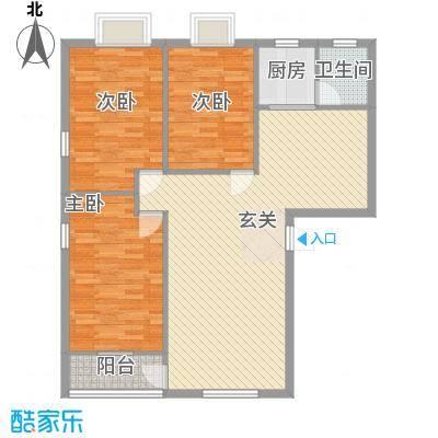 德欣苑户型3室