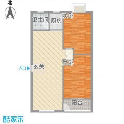 德欣苑户型2室
