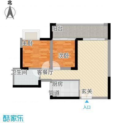 建行宿舍户型2室