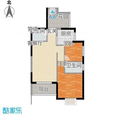 银杏花园户型3室